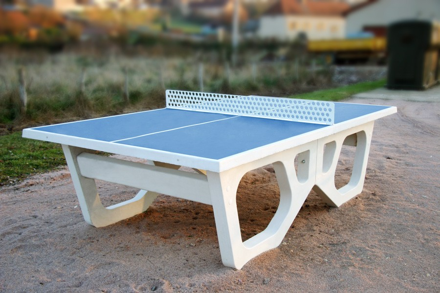 table de ping pong plage